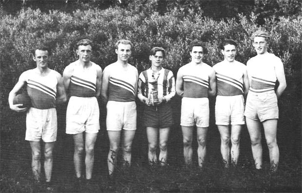 Norðurlandsmeistarar KA í handknattleik 1945