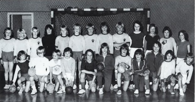 Yngri handknattleiksmenn KA um 1973