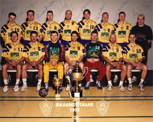 Bikarmeistarar 1995