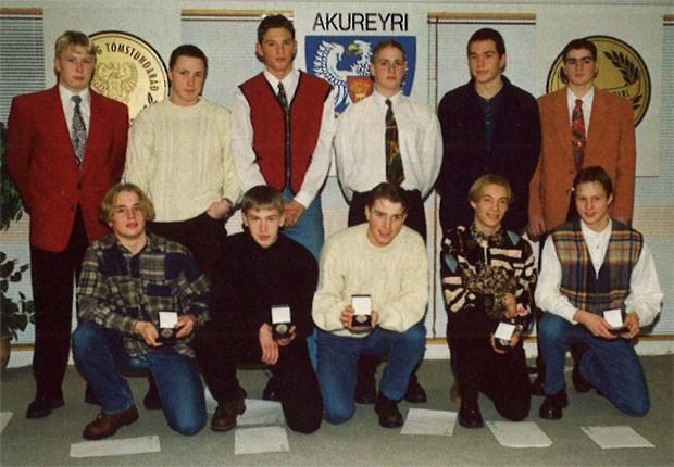 Íslandsmeistarar KA í 3. flokki 1993