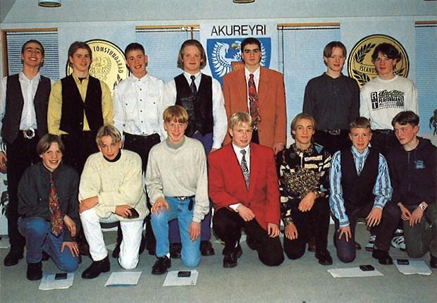 Íslandsmeistarar KA í 4. flokki 1993