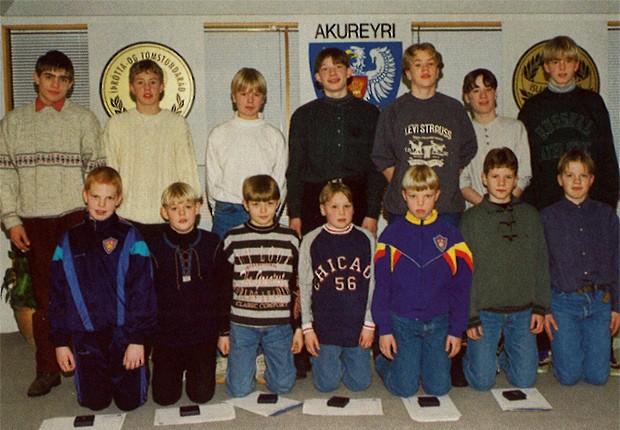 Íslandsmeistarar KA í 5. flokki 1993