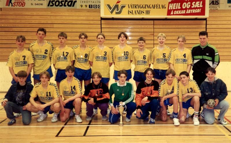 Íslandsmeistarar KA 1992 – 4. flokkur karla