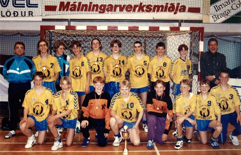 Íslandsmeistarar KA 1993 – 4. flokkur karla