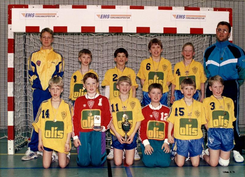 Íslandsmeistarar KA 1994 – 6. flokkur karla A-lið
