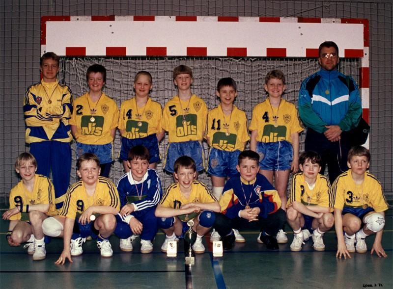 Íslandsmeistarar KA 1994 – 6. flokkur karla C-lið