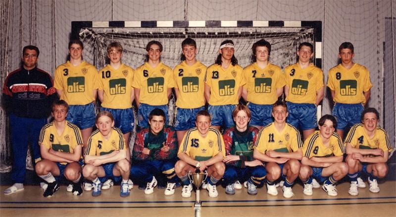 Íslandsmeistarar KA 1995 – 4. flokkur karla