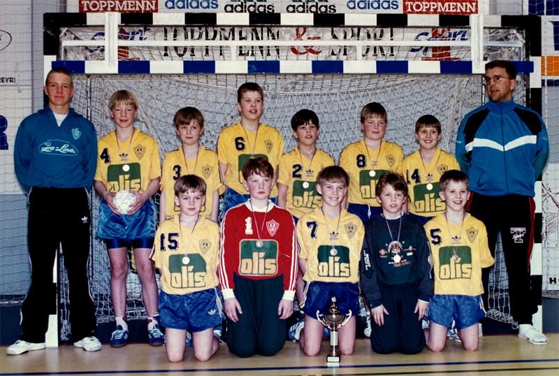 Íslandsmeistarar KA í 6. flokki A lið 1995