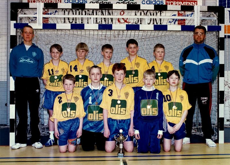 Íslandsmeistarar KA í 6. flokki B lið 1995
