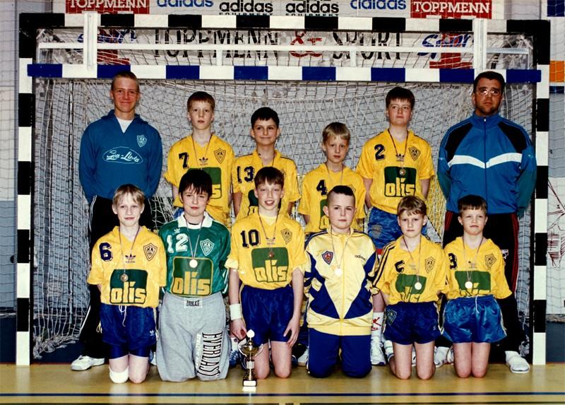 Íslandsmeistarar KA í 6. flokki C lið 1995