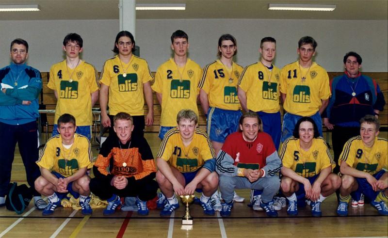 Íslandsmeistarar KA 1996 – 3. flokkur karla
