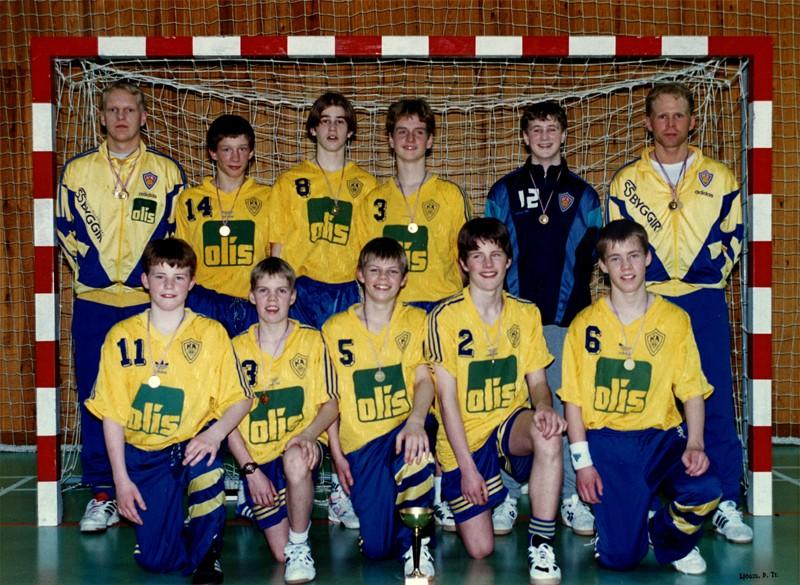 Íslandsmeistarar KA í 5. flokki A lið 1996