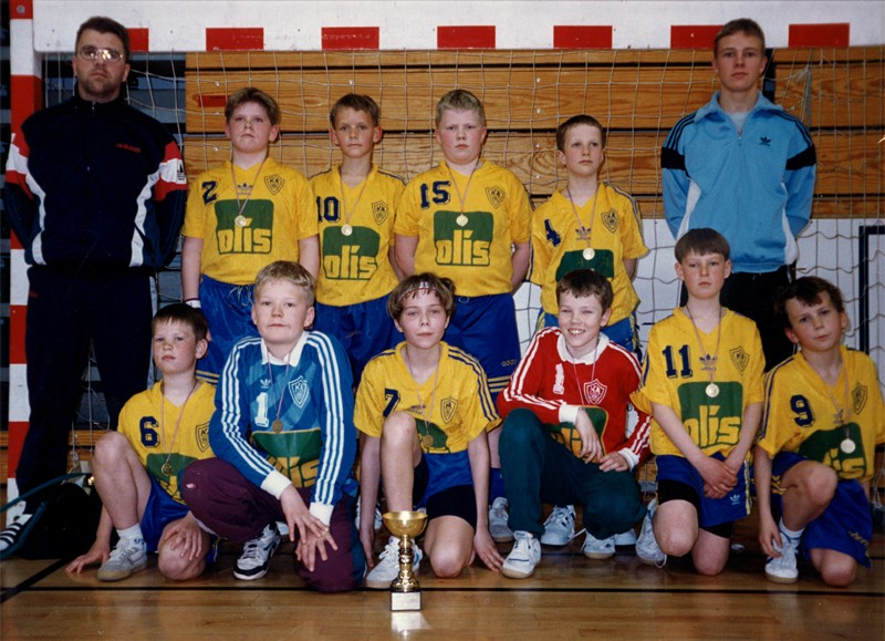 Íslandsmeistarar KA 1996 – 6. flokkur karla B-lið