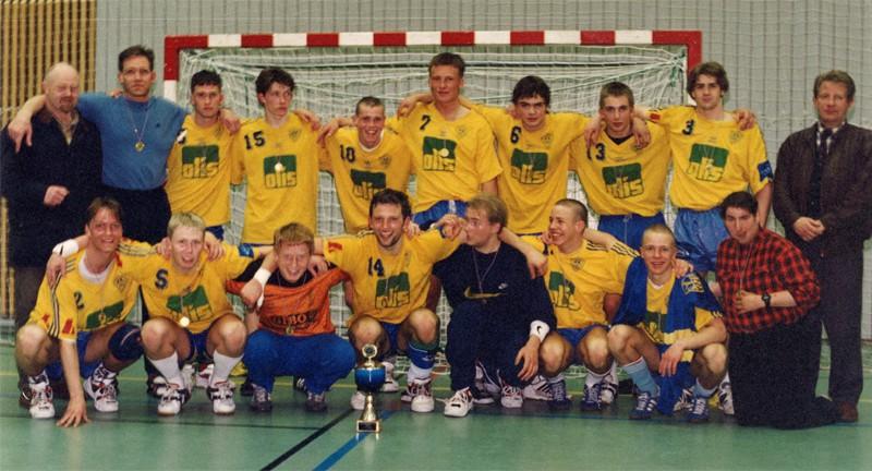 Íslandsmeistarar KA 1997 – 2. flokkur karla