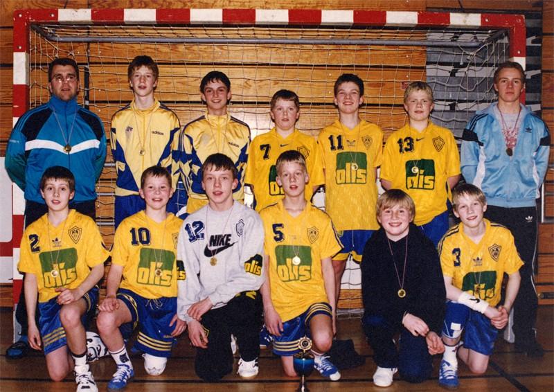 Íslandsmeistarar KA í 5. flokki C lið 1997