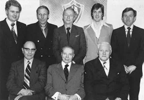 Stjórn KA á 50 ára afmælinu 1978