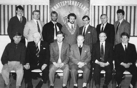 Stjórn KA á 60 ára afmælinu 1988
